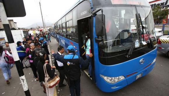 Barranco solicitó suspensión de corredor azul por deficiencias