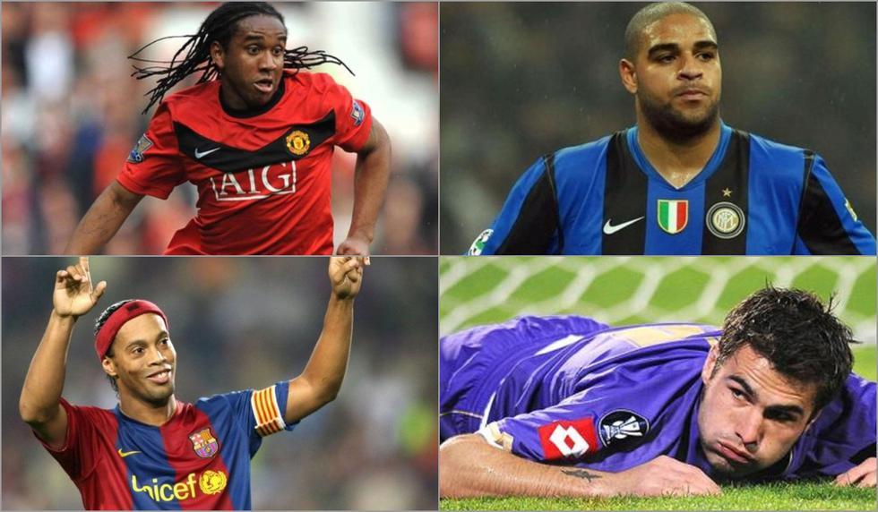 Con Ronaldinho y Adriano: los 10 jugadores que vieron arruinada su carrera con el tiempo [FOTOS]