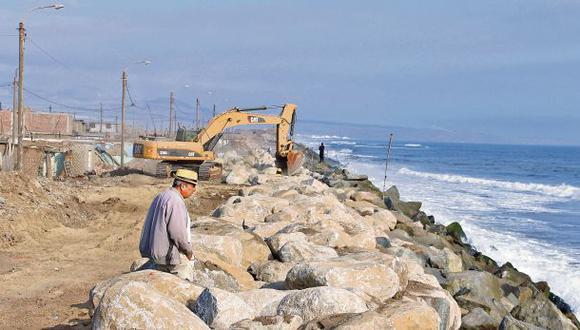 Trujillo: exigen al MTC informe sobre enrocado de playas