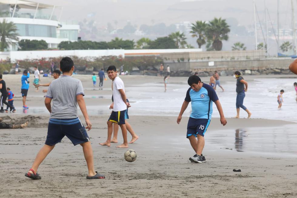 Deportistas no respetaron medidas de prevención. (Foto: Gonzalo Córdova / GEC)