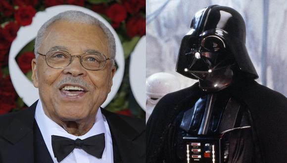 """""""Star Wars"""": James Earl Jones retoma el rol de Darth Vader"""