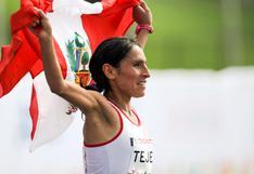 Gladys Tejeda ocupó puesto 11 en la Maratón de Ámsterdam