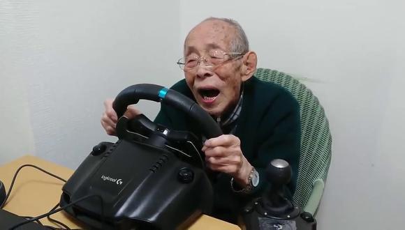 Los videos del anciano en YouTube suelen volverse virales rápidamente. (Foto: オリビンコープ | YouTube)