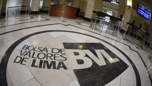 Los principales indicadores de la Bolsa de Valores de Lima mostraban caídas superiores al 5%. (Foto: BVL)