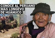 Peruano con 121 años fue vacunado contra la COVID-19 en Huánuco