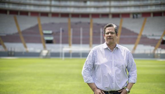 El presidente del IPD critica que organismo encargado del legado pase a Mincetur y cree que organización de Lima 2019 busca seguir al mando. (Foto: César Campos)