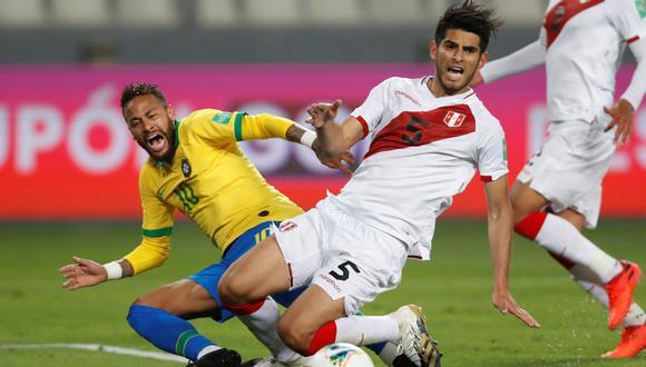 Carlos Zambrano dio sus descargos tras la derrota de Perú ante Brasil en las Eliminatorias | Foto: EFE