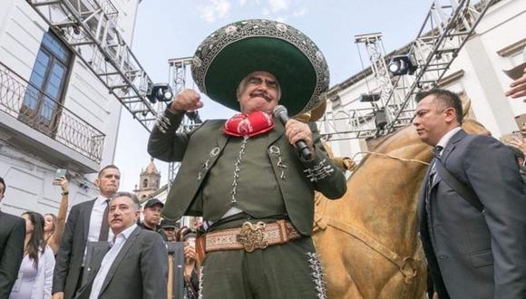 Los familiares de Vicente Fernández siguen dando detalles sobre el estado del cantante mexicano. (Foto: Instagram  @_vicentefdez)
