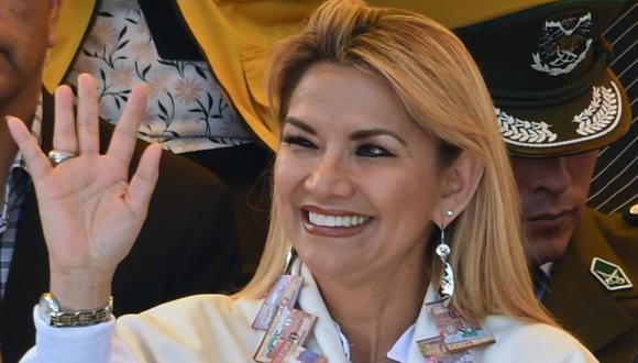 Bolivia: Jeanine Áñez será candidata presidencial en las elecciones del 3 de mayo (Foto: AFP)