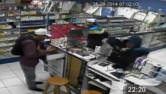 Hampones que asaltaron dos veces una farmacia fueron liberados