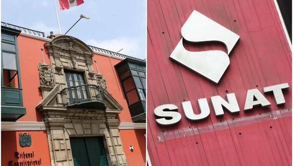 Tribunal Constitucional declaró infundada la prescripción del cobro de deudas a la Sunat. (Composición: El Comercio)