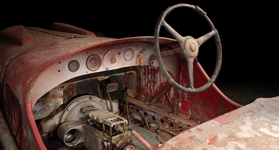 En 1930, Benito Mussolini pagó un total de 60 mil liras italianas por este ejemplar de Alfa Romeo. (Fotos: Alfa Romeo).