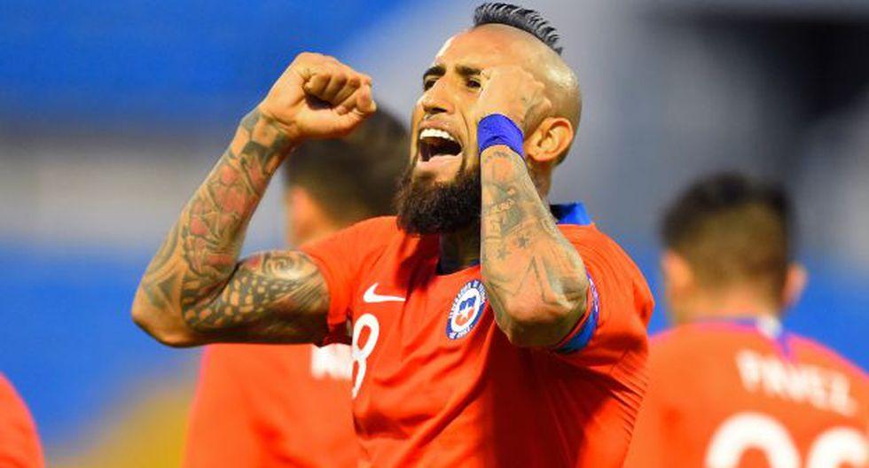 Arturo Vidal tiene 115 partidos con camiseta de la selección mayor de Chile. (Foto: AFP)