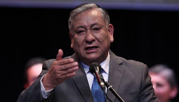 Felipe Castillo, actual alcalde de Los Olivos. (Foto: GEC)