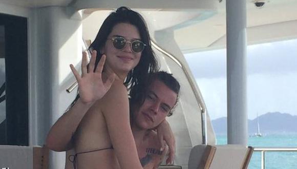 Filtran fotos privadas de Harry Styles y Kendall Jenner