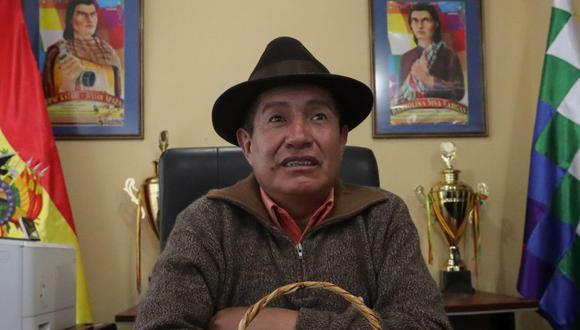 El nuevo director del Fondo de Desarrollo Indígena de Bolivia, el aimara Rafael Quispe. (Foto: EFE)
