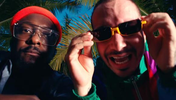 """J Balvin estrenó """"RITMO"""",  la canción que grabó con Black Eyed Peas para la película """"Bad Boys For Life"""". (Foto: Captura de video)"""