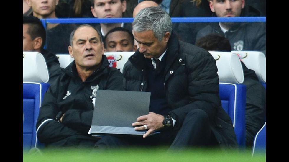 Mourinho: decepción y amargura por el 4-0 en Stamford Bridge - 13