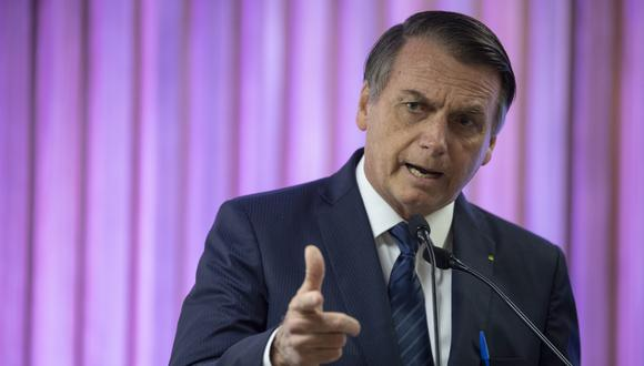 Jair Bolsonaro apoya reelección de Mauricio Macri en Argentina. (Foto: AFP/archivo)
