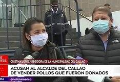 Callao: alcalde es acusado de desaparición de 8 toneladas de pollo