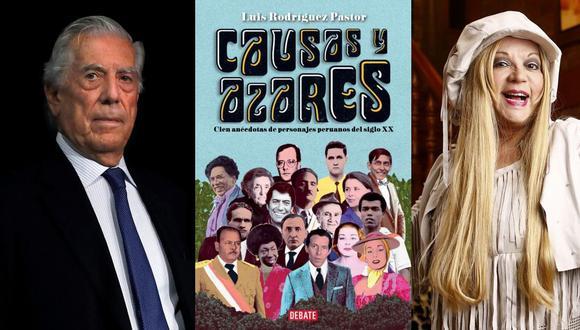 """De Mario Vargas Llosa a Yola Polastry: el libro """"Causas y azares"""" reúne cien anécdotas de personajes peruanos del siglo XX. (Fotos: EFE/José Rojas Bashe)"""