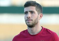 Barcelona anunció que Sergi Roberto dio positivo por coronavirus y se encuentra en aislamiento