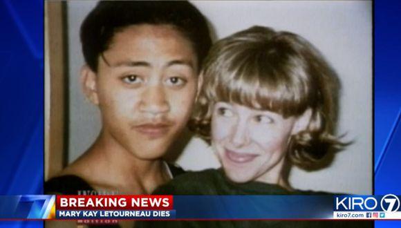 En 1998, la policía encontró a Mary Kay Letourneau y Vili Fualaau dentro de un auto.  Foto: Captura de video Kiro7