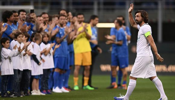 Andrea Pirlo tendrá su partido de despedida junto a grandes cracks del fútbol mundial esta tarde (02:30 p.m. / EN VIVO ONLINE) en el Estadio San Siro. (Foto: Calcio Mercato)