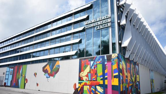 Coronavirus Estados Unidos   Miami   Centro de convenciones de Miami Beach se convertirá en hospital de campaña por Covid-19. Foto: Facebook @MiamiBeachConventionCenter