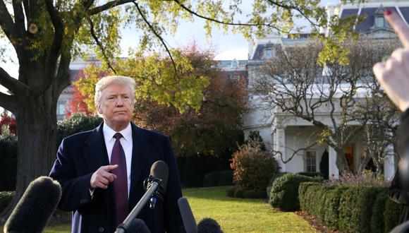 """Más temprano, Trump aseguró que las respuestas serían enviadas pronto al equipo de Mueller y volvió a referirse a las pesquisas como """"una caza de brujas"""". (Reuters)"""