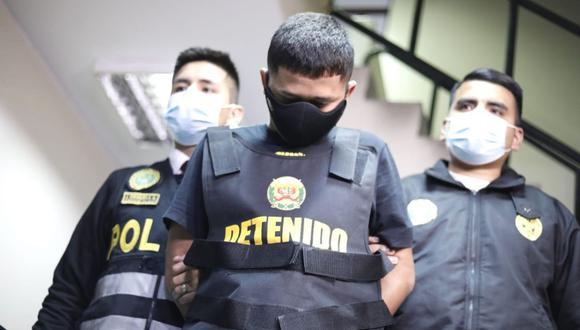 Aldair Anthony Romero Montalvo  fue detenido en Breña por la PNP. (Foto: César Bueno/@photo.gec)