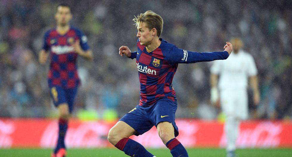 """Frenkie de Jong (Barcelona): """"Uno de los transeúntes más exitosos que he visto para su edad"""". (Foto: AFP)"""