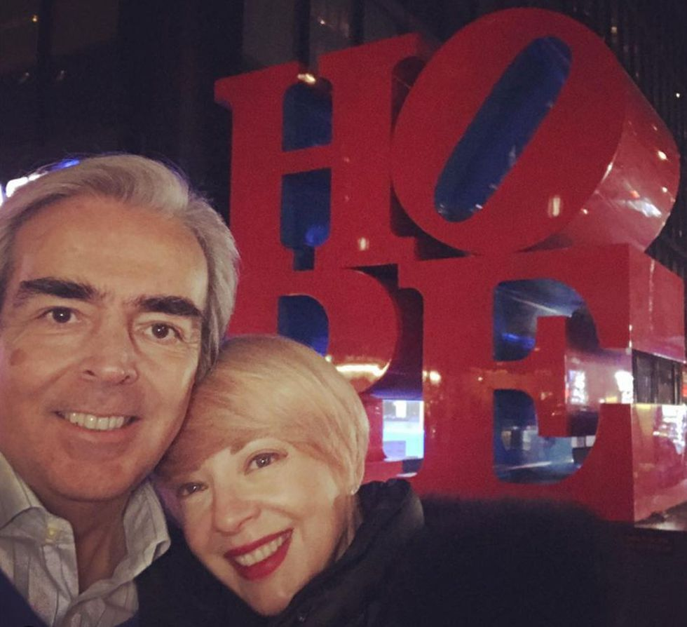 Lorenzo Lazo fue el gran amor de Edith González. (Foto: Instagram @lazomargain)