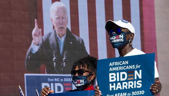 Joe Biden lidera las encuestas de cara a las elecciones del 3 de noviembre en Estados Unidos. (ROBERTO SCHMIDT / AFP).