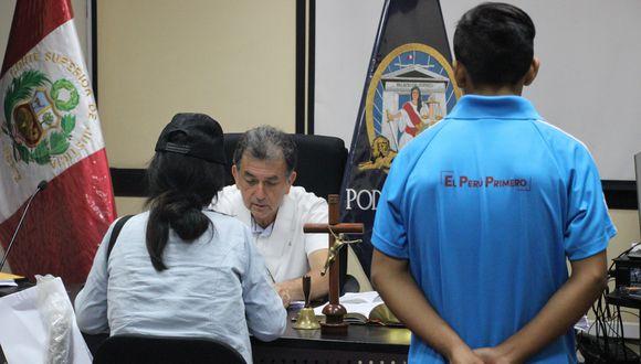 El menor fue detenido la noche del último jueves, tras tres días de búsqueda (Foto: Poder Judicial).