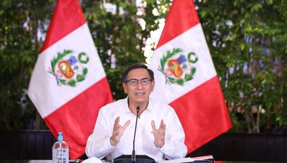 Presidente Martín Vizcarra ofrecerá pronunciamiento en el día 30 del estado de emergencia para frenar avance de coronavirus. (Foto: Andina)