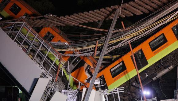 La tragedia se produjo este lunes, pero el estado de la línea 12 ha estado en condiciones preocupantes desde su inauguración. (Getty Images).