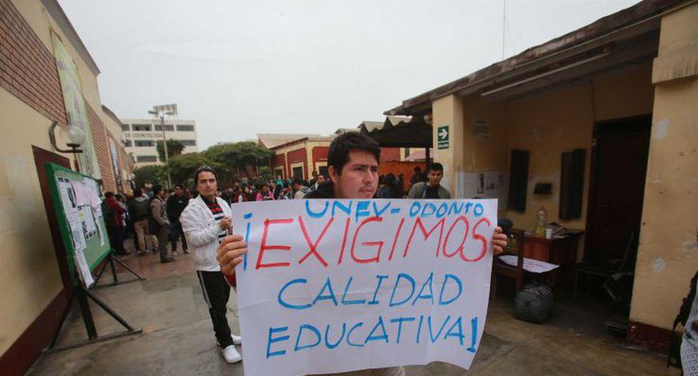 UNFV: estudiantes toman facultades en rechazo a sus autoridades - 5