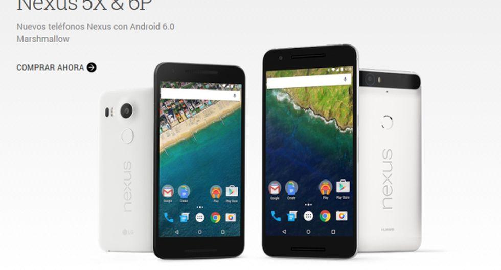 Nexus 5X y el Nexus 6P, los nuevos teléfonos de Google [VIDEO] - 1