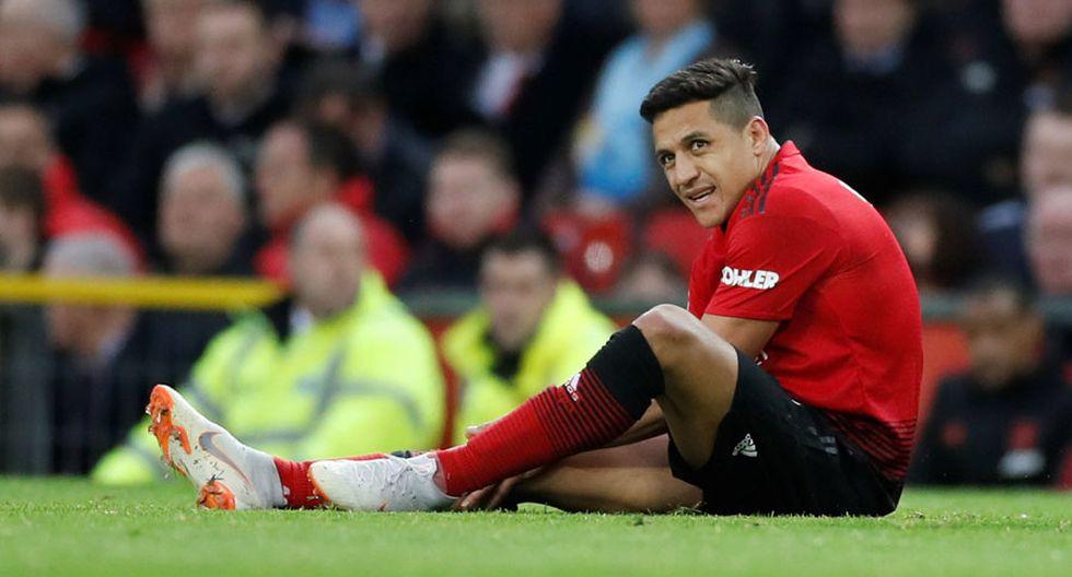 Alexis Sánchez cerró su participación en el Manchester United con los números en rojo. (Foto: AP)