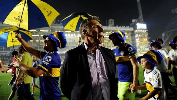 Russo se ha encargado de colocar a Boca nuevamente en lo más alto del fútbol argentino. (Foto: AP)