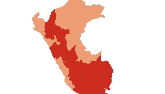Resultados ONPE al 92.140 % de actas contabilizadas: Keiko Fujimori 50.014% y Pedro Castillo 49.986%.