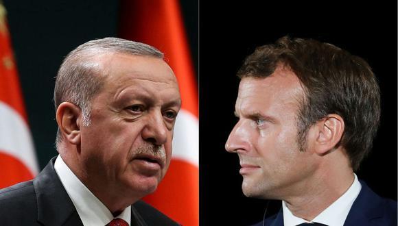 """Recep Tayyip Erdogan dijo que Emmanuel Macron necesita """"examen de salud mental"""" por su trato a musulmanes en Francia. (AFP)."""