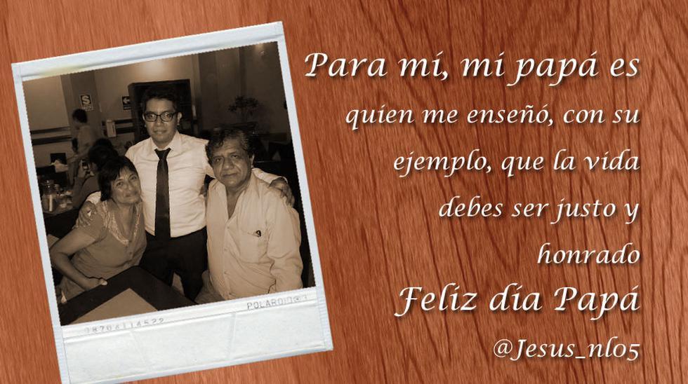 #ParaMíMiPapáEs: el saludo de los lectores por el Día del Padre - 12