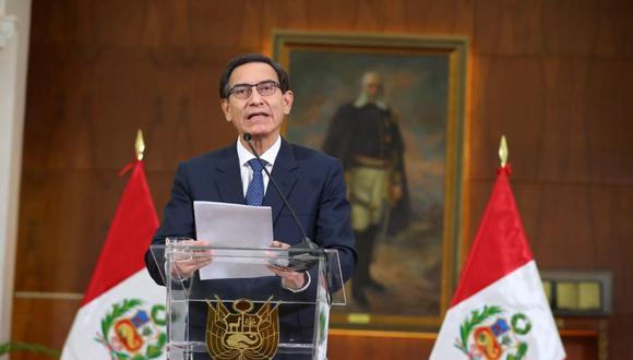 Quedará sin responder la duda sobre qué tan cómodo se sentía Vizcarra con un primer ministro de perfil alto como Cateriano. (Presidencia)