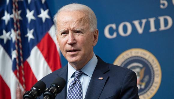 Joe Biden no compartirá con México el suministro de vacunas contra el coronavirus de Estados Unidos. (Foto: SAUL LOEB / AFP).