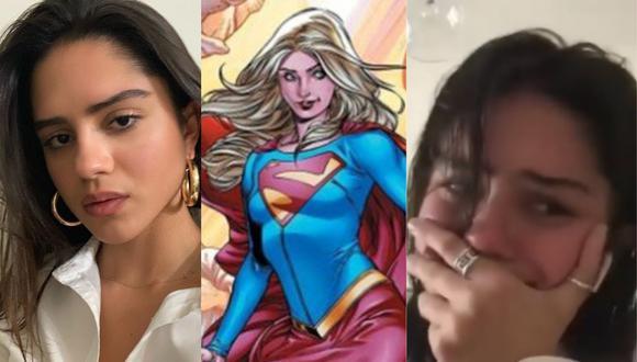 """Sasha Calle será la nueva Supergirl en película """"The Flash"""". (Foto: @andy_muschietti/DC/@sashacalle)"""