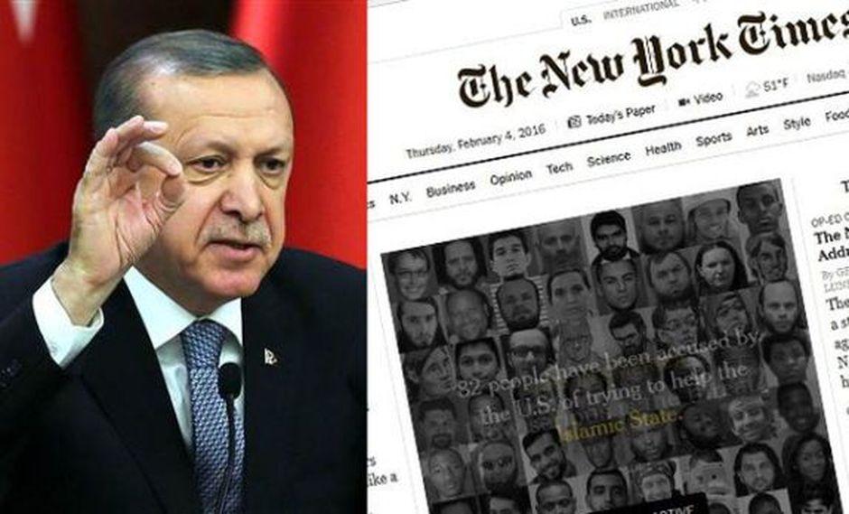 "Turquía le negó la entrada a periodista de ""The New York Times"""