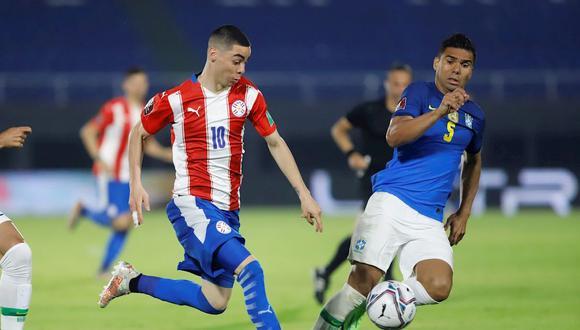 Paraguay se encuentra en la sexta posición de las Eliminatorias rumbo a Qatar 2022. (Foto: EFE)