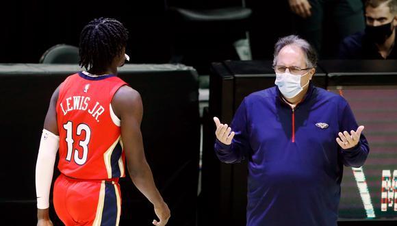 Stan Van Gundy, entrenador de Pelicans, habló con El Comercio sobre las dificultades ocasionadas por el COVID-19 | Foto: EFE